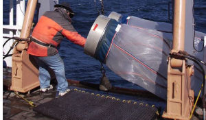 The bongo net is a traditional tool of biological oceanographers but is biased toward plankton with a hard exoskeleton (crustaceans) (Image source: NOAA Cruise DE 10-09 Report).